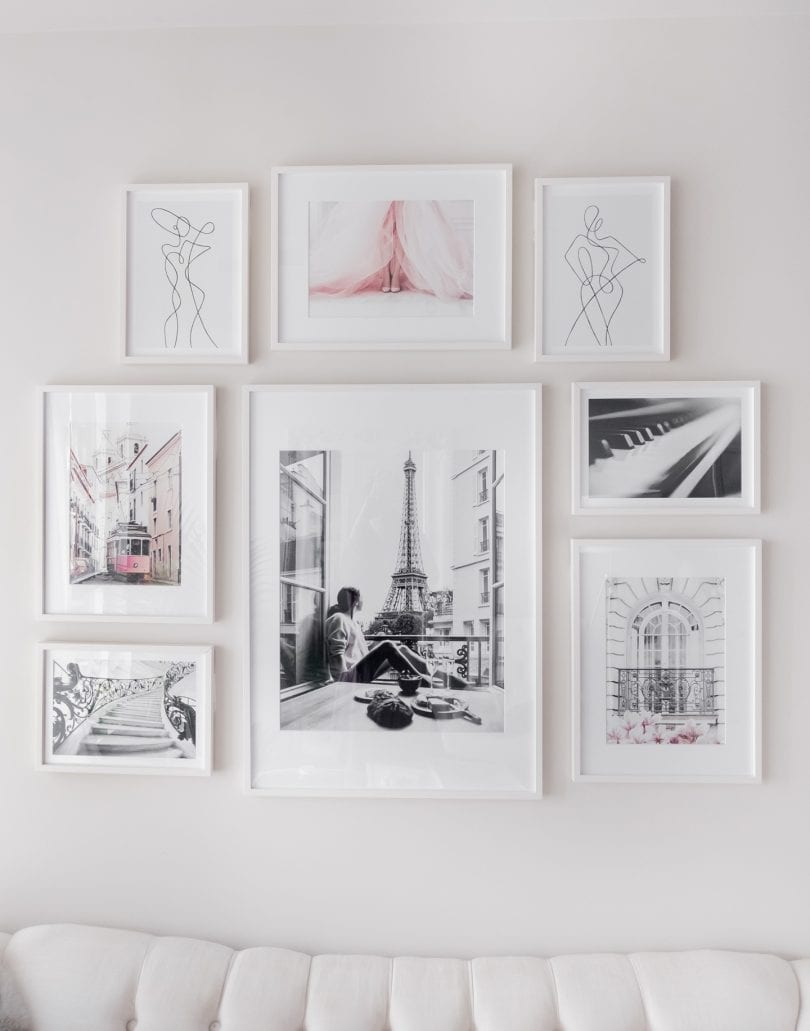 How to make a gallery wall in 3 easy steps