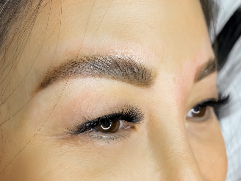 Brow lamination after results. Get fuller looking, fluffier looking brows! - see more on yesmissy.com