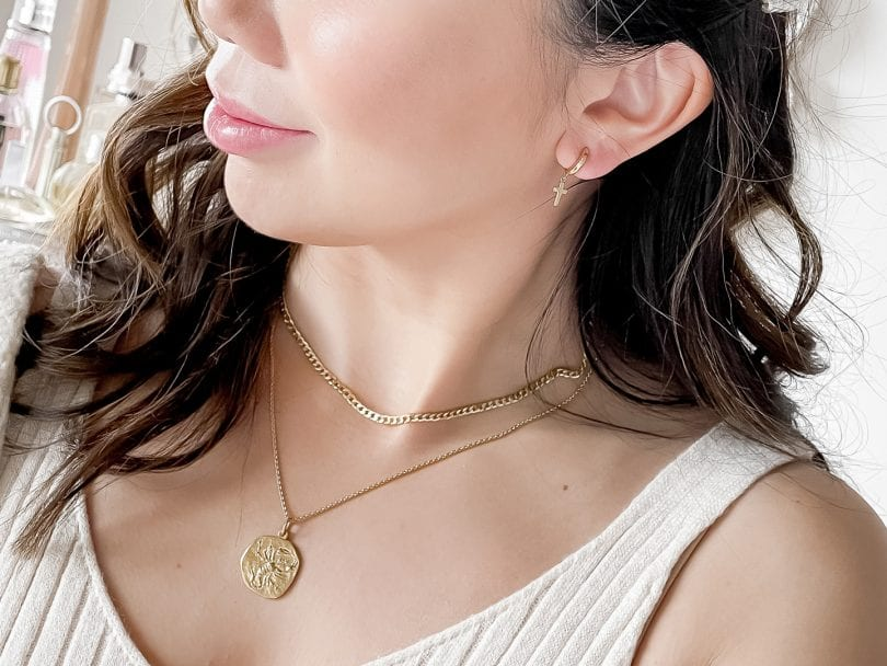 Rellery Review - customized earrings, necklace and rings designed in USA