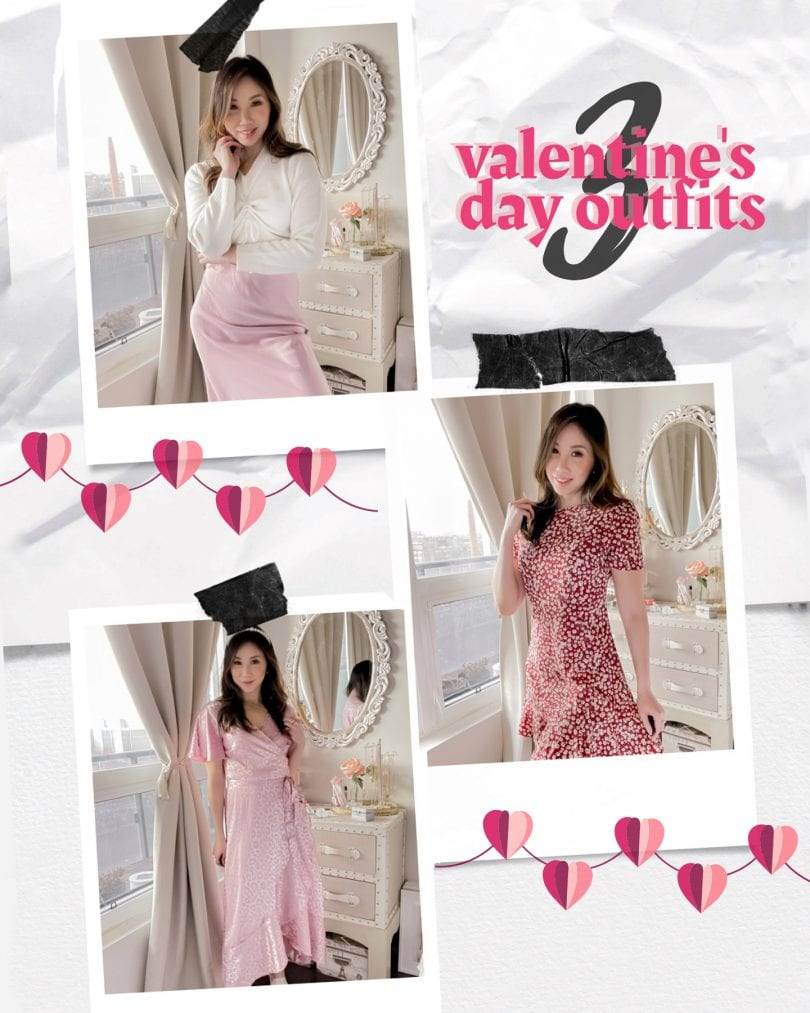 3 Valentine's Day outfit ideas style by Eileen Lazazzera of YesMissy.co