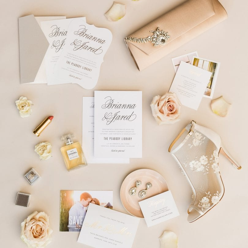 Create your own customizable elegant wedding invitation cards from Basic Invite