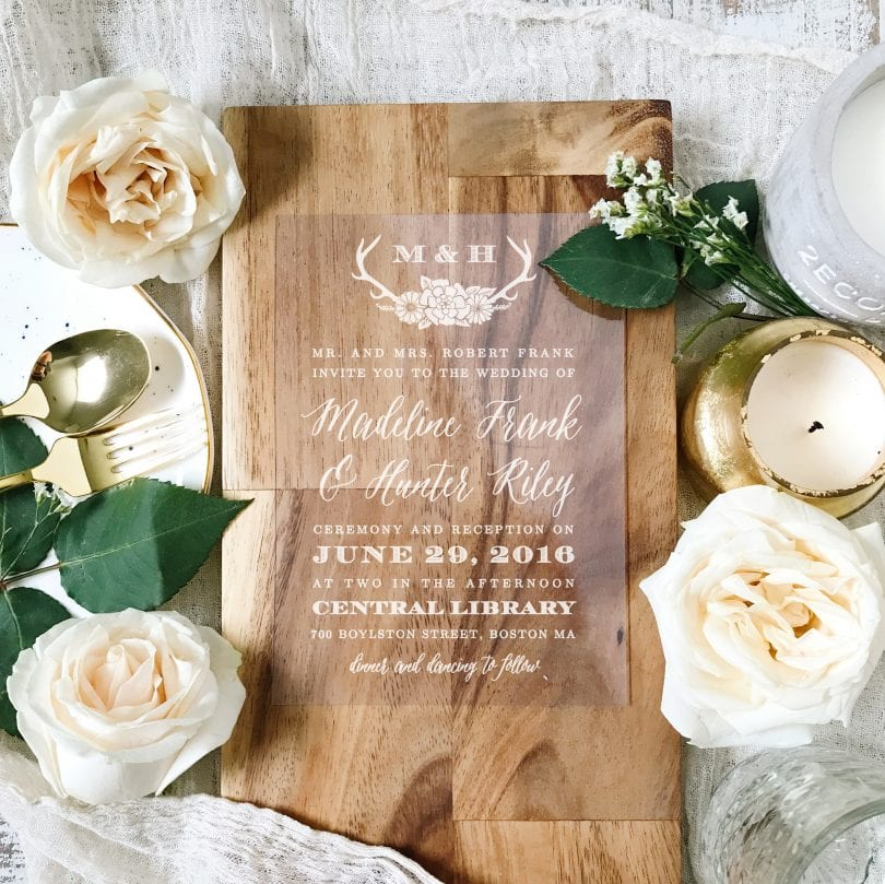 Create affordable custom wedding invitations cards that will impress your guests and help set the tone for your wedding.