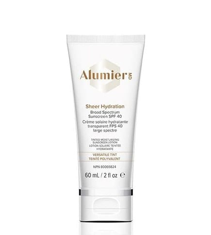 Skincare favorites - Alumier MD Sheer Hydration Physical Sunscreen