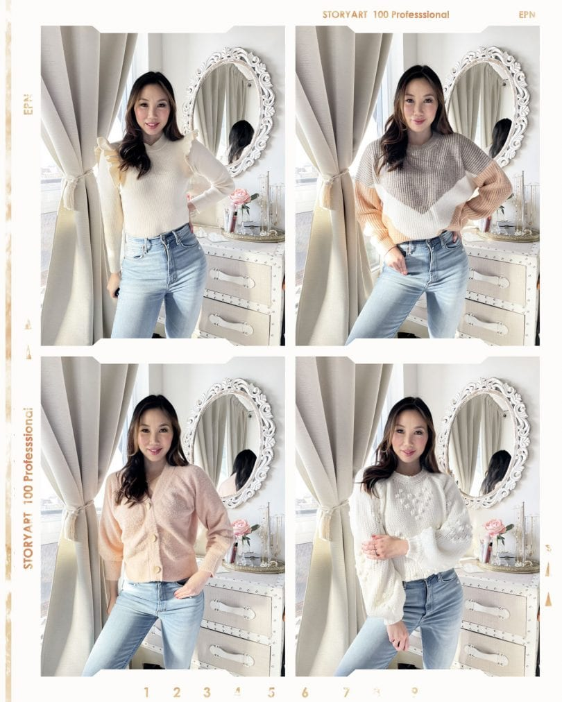 10 Sweaters Under $40 - cute, cozy sweaters that are well made and affordability priced.