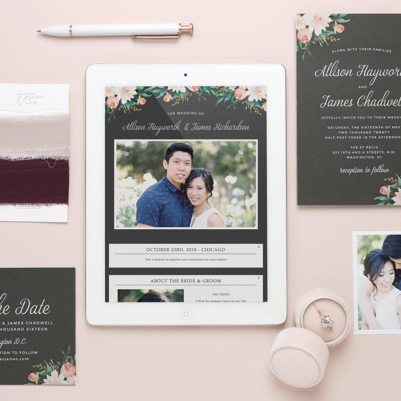 Get your free wedding website at Basic Invite