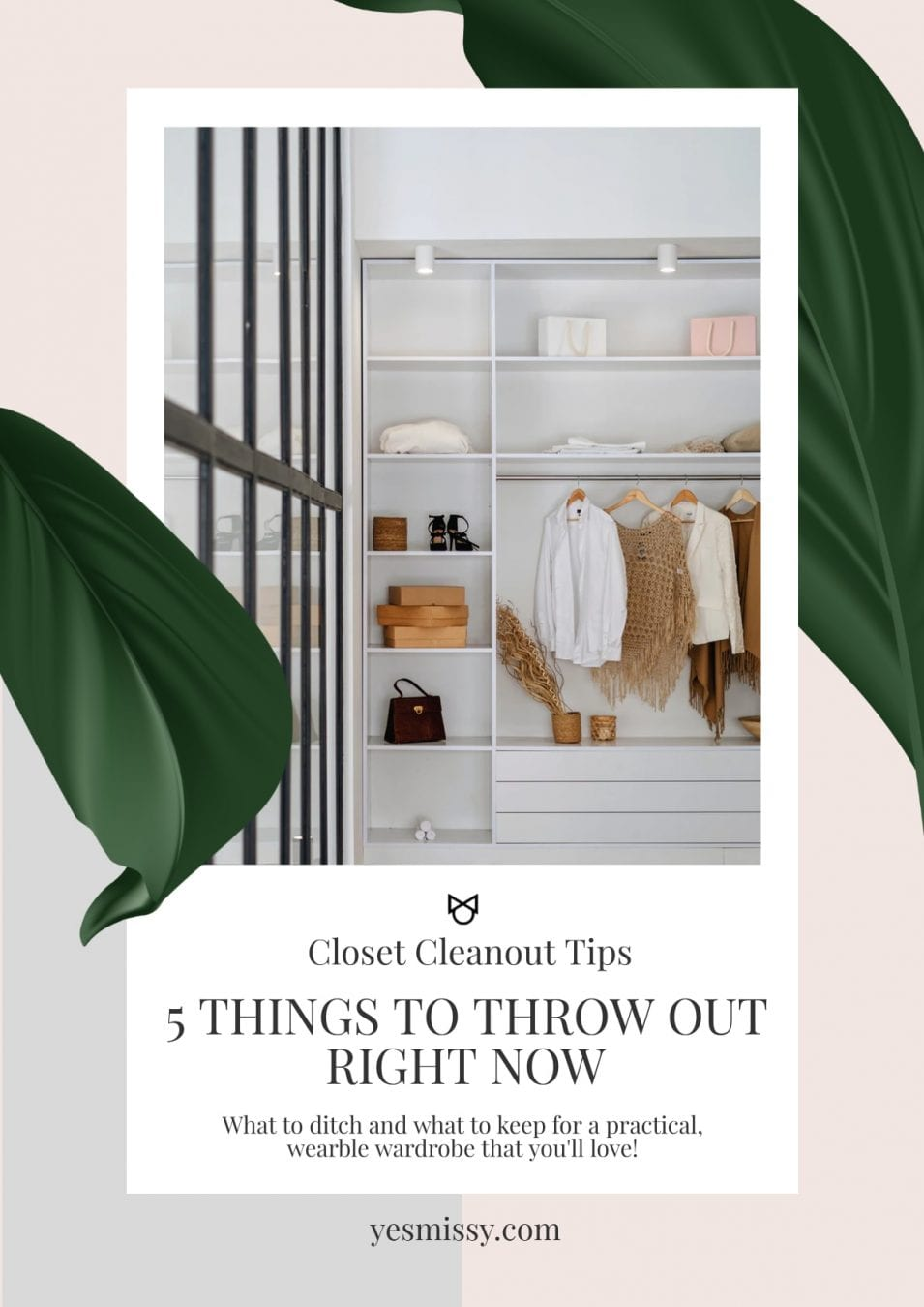 Practical tips to help you decide what to keep and what to throwout for a wearable wardrobe you'll love.