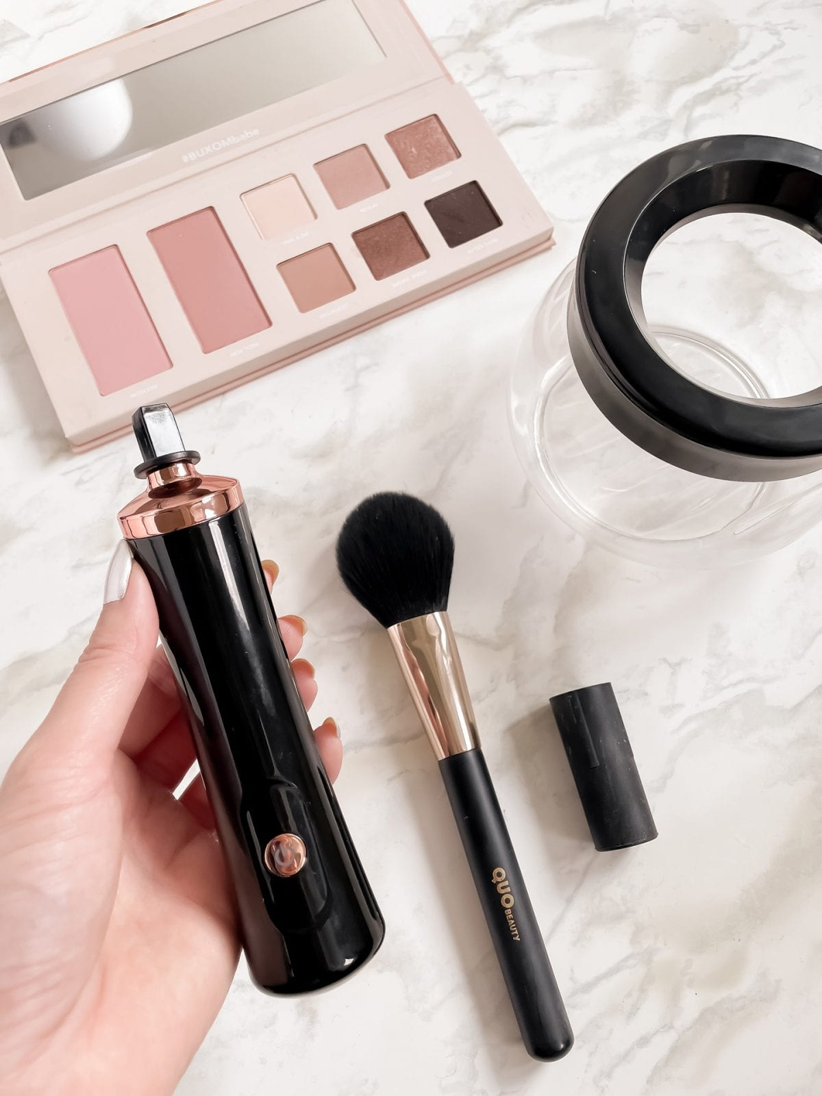 This Amazon electric makeup brush cleaner kit will make the task of cleaning your makeup brushes so easy and strangely satisfying. Read the full review on yesmissy.com