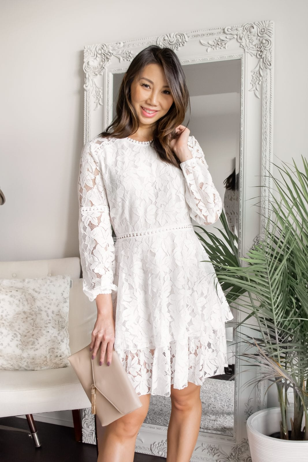 The perfect white lace dress for every occasion! More at yesmissy.com