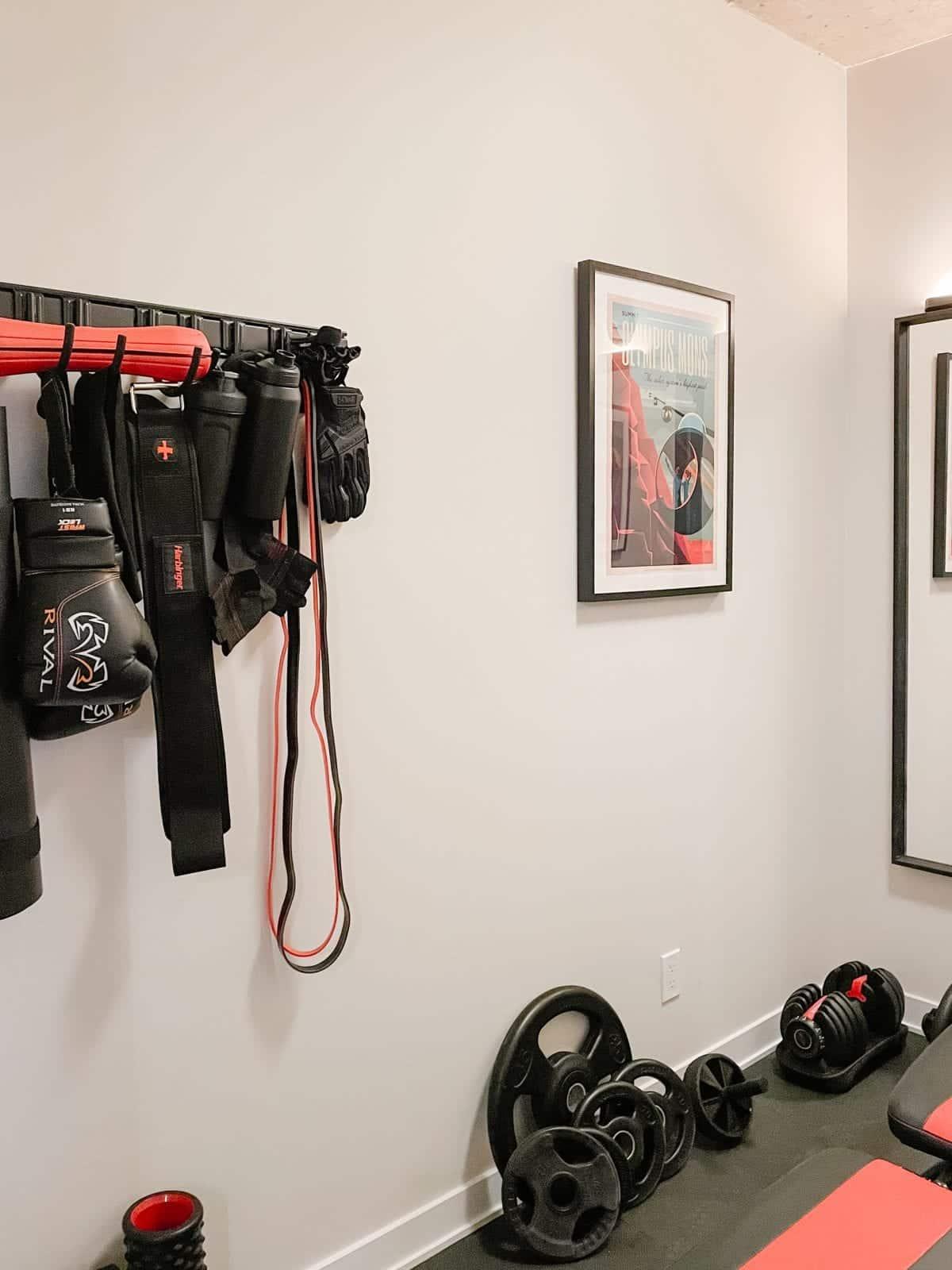 Condo Tour - Den converted into gym