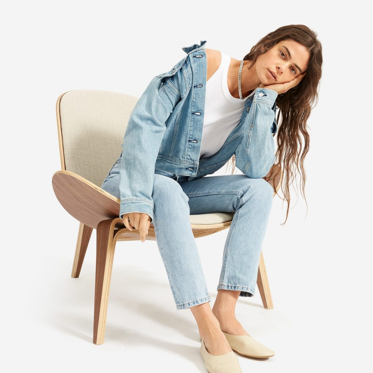 My favourite pair of jeans - the 90's Cheeky Denim from Everlane