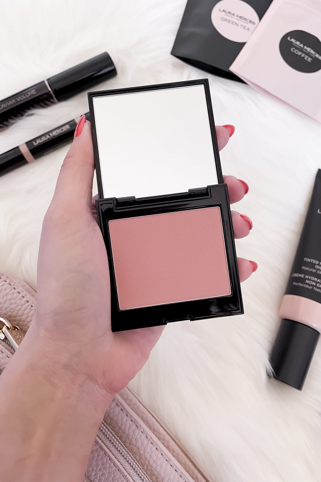 Laura Mercier Blush Color Infusion in Chai  - the perfect matte neutral rose color!