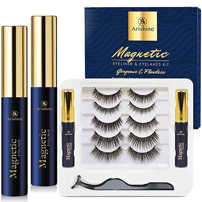 No glue, no problem! These magnetic lashes are easy to apply and stay on all day!